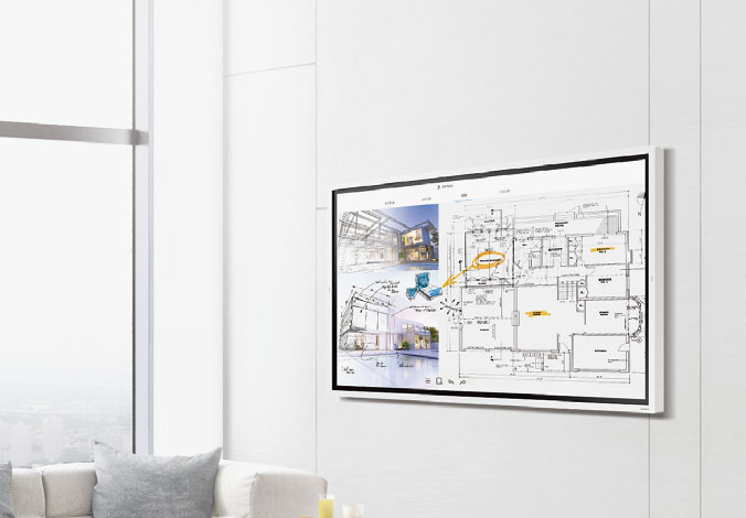 Samsung Flip Wandhalterung