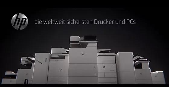 hp, die weltweit sichersten Drucker und PCs